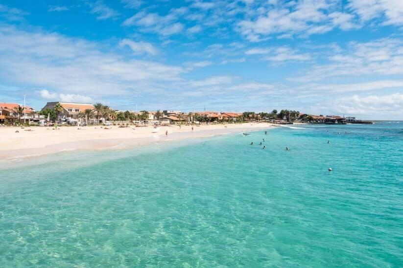 Isla de Sal. Cabo Verde