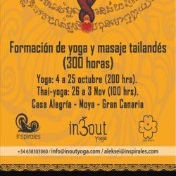 Yoga Teacher Training + Thai-Yoga: Gran Canaria