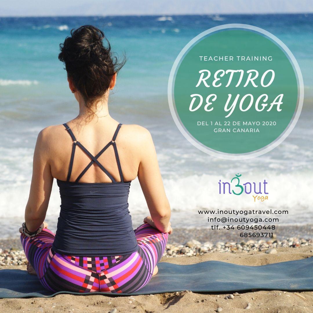 Retiro Yoga Teacher Training / Gran Canaria Mayo 2020