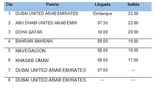 Abu Dahbi y Leyendas de Arabia