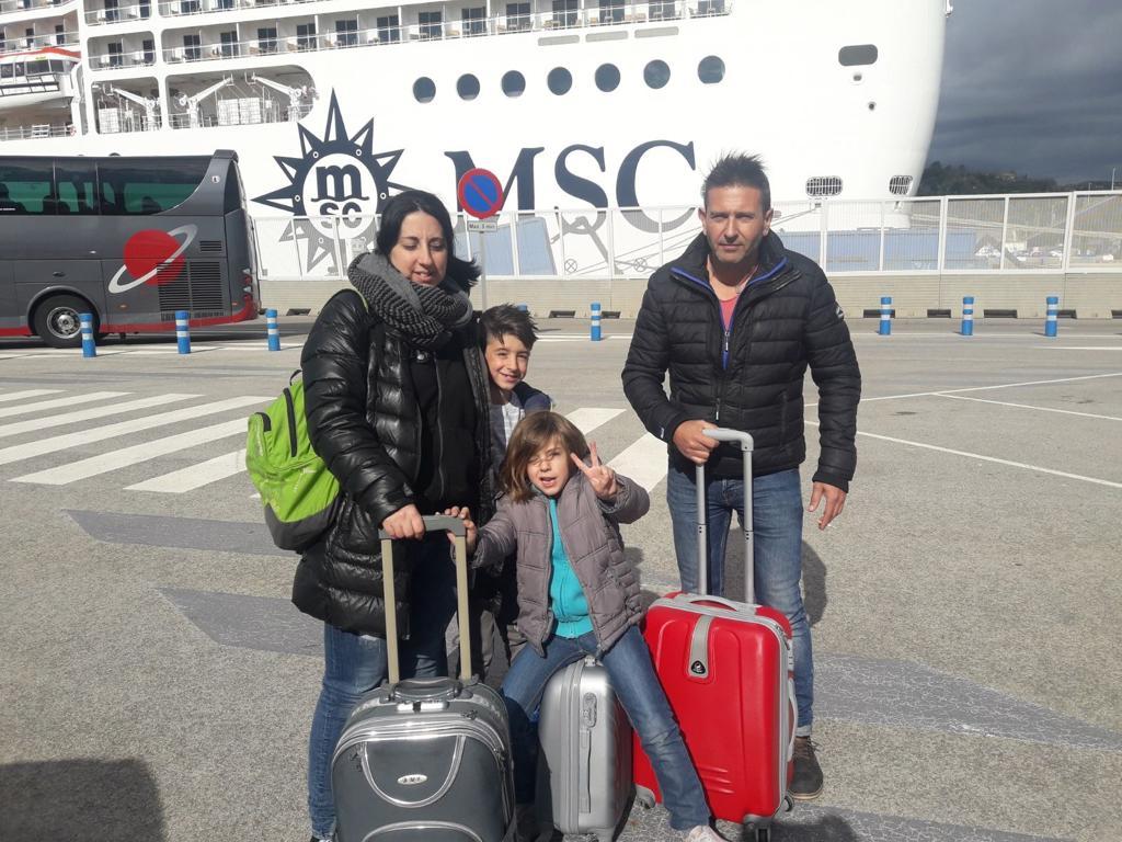 msc hacia Genova