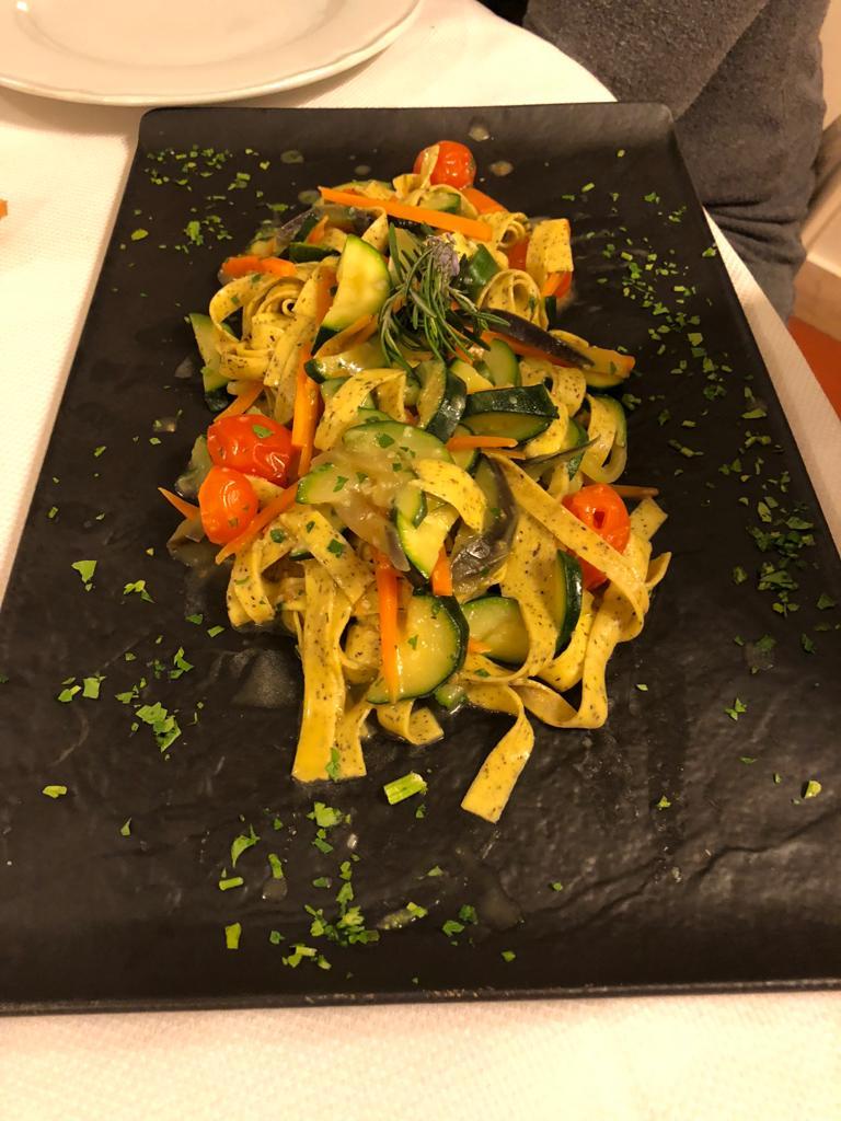 pasta italiana en spezia