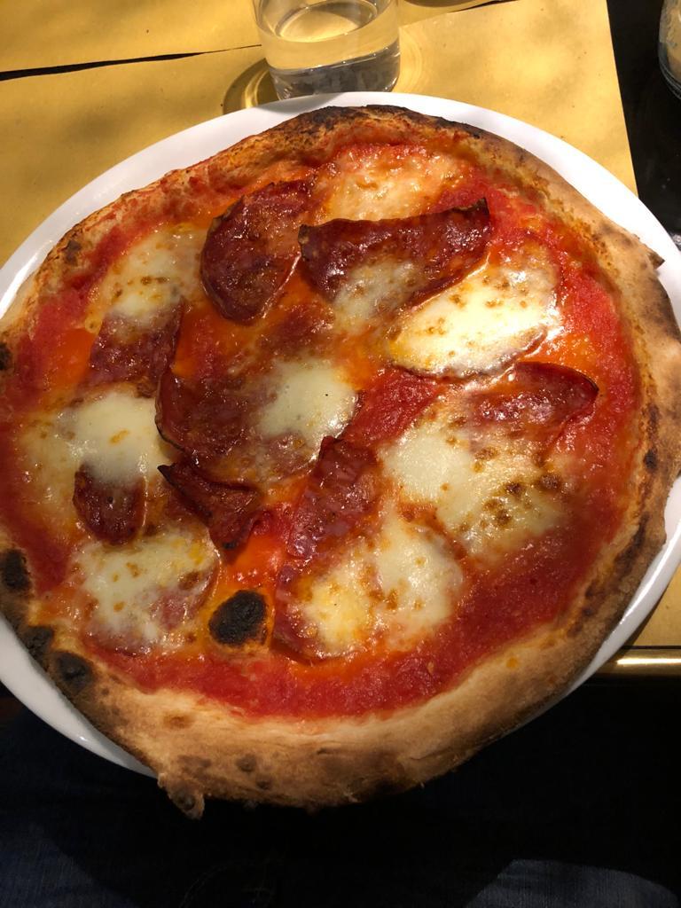 pizza en la toscana