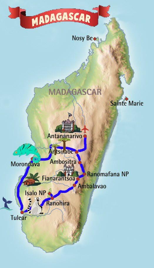 Naturaleza y cultura de MADAGASCAR