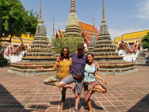 yoguis en Tailandia
