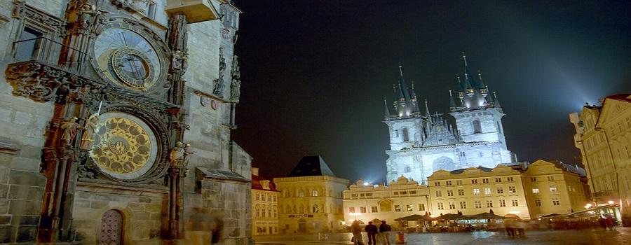 La Praga arquitectónica
