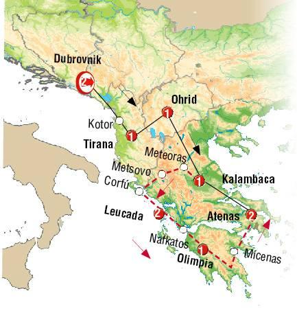 Dubrovnik y Atenas