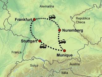 Pelo Sul da Alemanha de Trem - 7 Dias