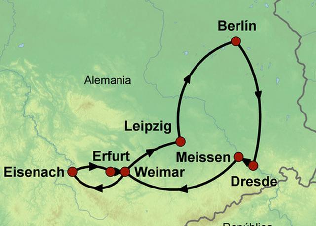 Los Tesoros del Este de Alemania - 7 Días
