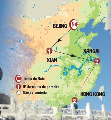 Circuito de 8 dias China: Passado, Presente e Futuro, saídas quartas e sextas todo o ano