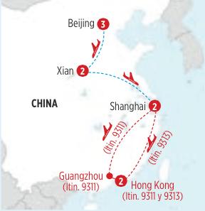 Circuito de 8 dias por CHINA IMPERIAL desde Beijing, 5 veces por semana Incluye Aéreos