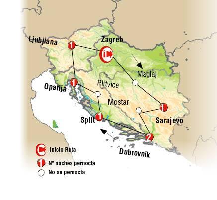 Tour De 15 Dias Gran Tour De Los Balcanes Lusoviajes