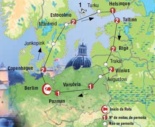 contorno baltico