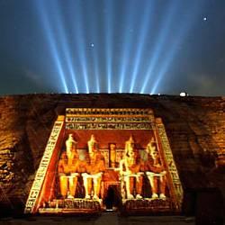 DESTELLOS DE ABU SIMBEL (Incluye espectáculo de Luz y Sonido de Abu Simbel)