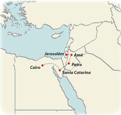 Circuito de 11 dias Oriente Medio para todos, saídas ás quintas todo o ano