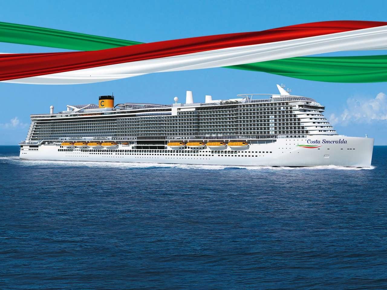 Costa smeralda crucero mediterraneo nov 2019
