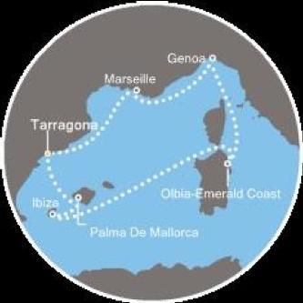 Itinerario SBKrucero 2019