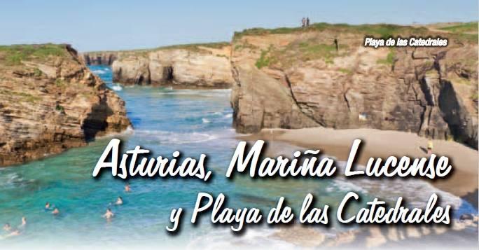 circuito en autobus asturia, mariña lucense y playa de las