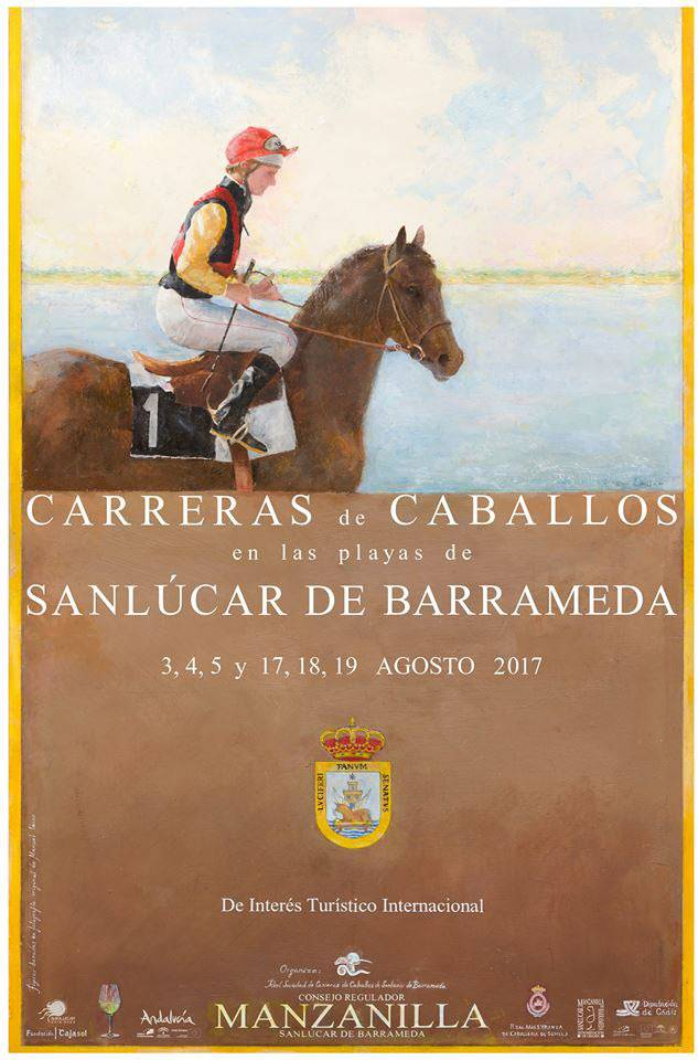 9 de Agosto del 2019. Carreras de Caballos de Sanlúcar de Barrameda, V Anticipada 15 Mayo