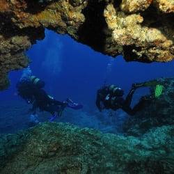 Cueva submarina, Los Cristianos
