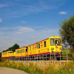 El tren groc Tren amarillo o Canari