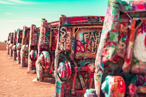 Cadillac Ranch, Amarillo