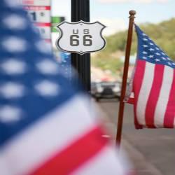 Ruta 66 en coche