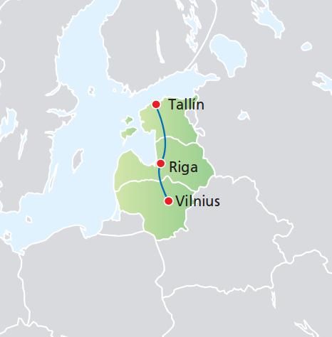 BELLEZAS DE ESTONIA, LETONIA Y LITUANIA