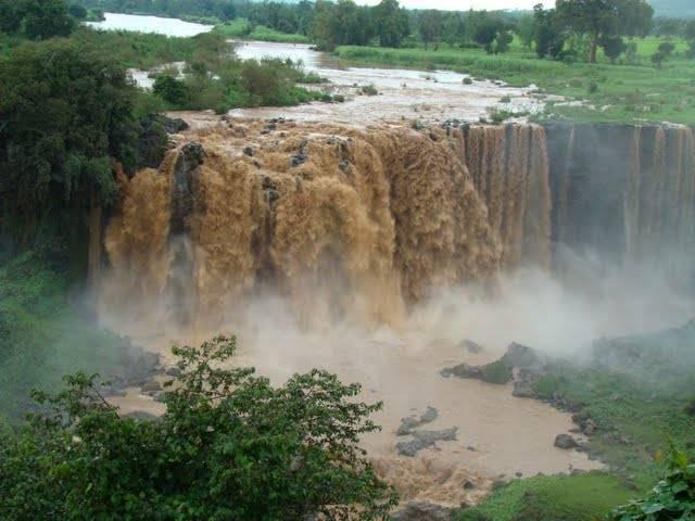 Cataratas Nilo Azul- Bahar Dar