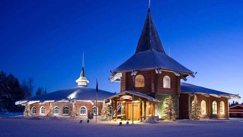 Aventura na Terra do Pai Natal