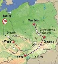 Berlom , Praga Viena e Polonia