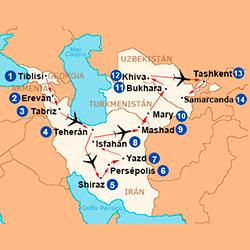 Viaje la Gran Ruta de la Seda