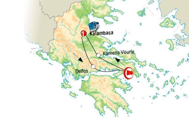 Circuito de 2 dias em AUTOCARRO pelo Norte da Grécia e Meteoras saídas ás Terças Feiras
