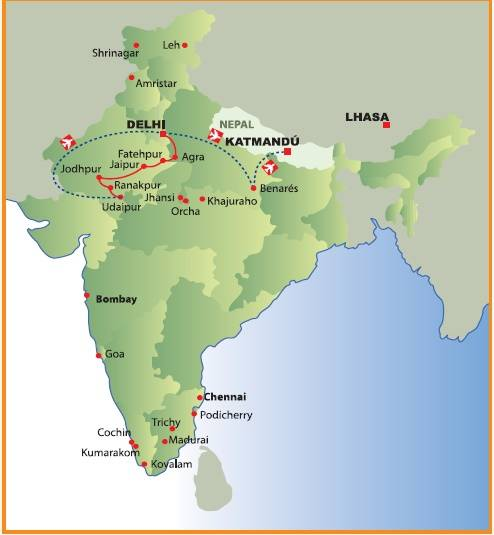esplendor da india