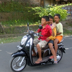 Scooter, Bali