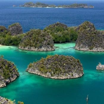 Fan Islands en Raja Ampat