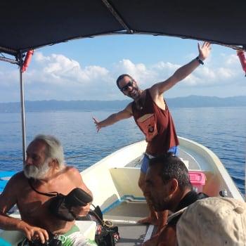 Recorriendo Raja Ampat en lancha