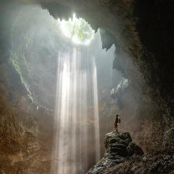 Jomblang Cave, Java