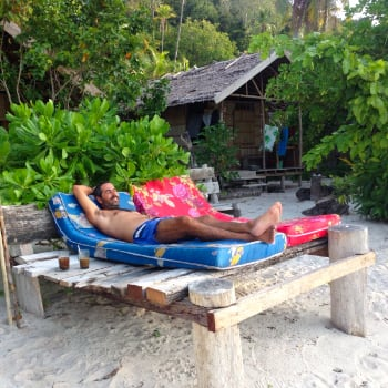 Relax en Raja Ampat