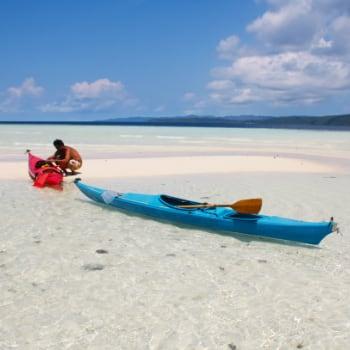 Excursión en Kayak, Raja Ampat