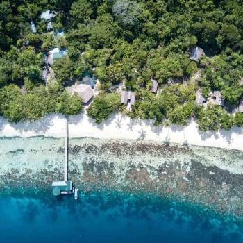 Resort en Raja Ampat, Estrecho de Dampier