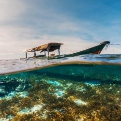 Barco de pesca, Wakatobi