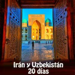 Irán y Uzbekistán 20 días