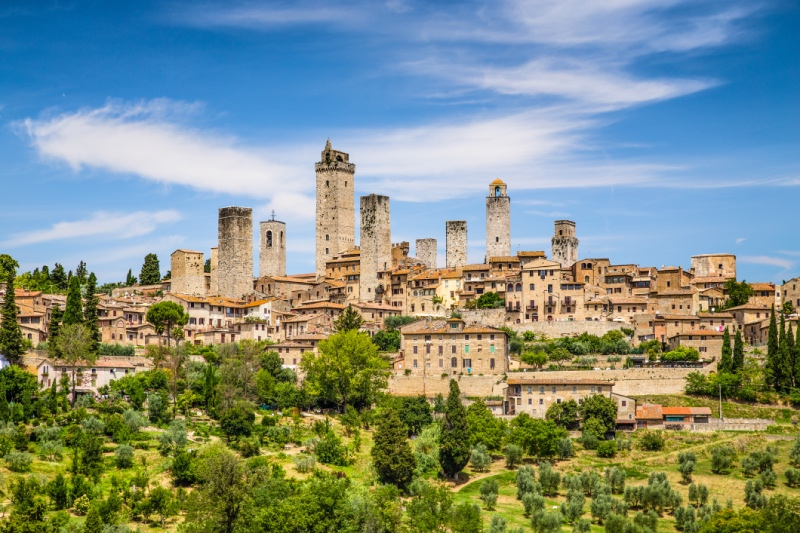 La Toscana - San Gimignano