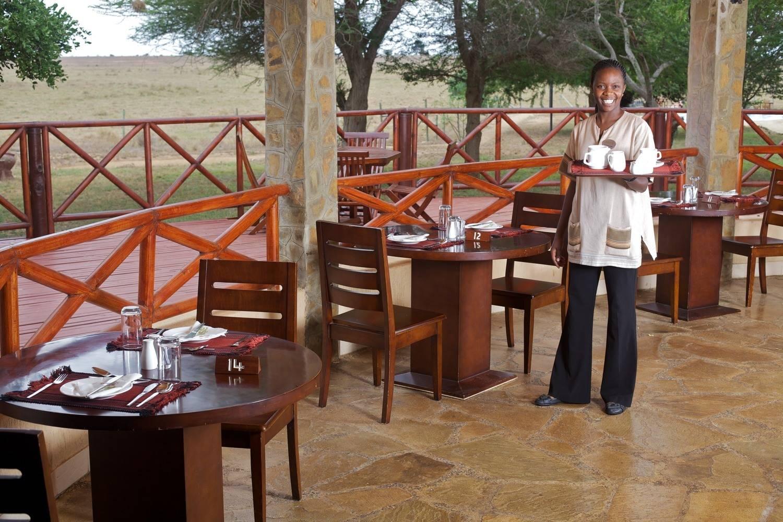 Ashnil Aruba camp, comedor