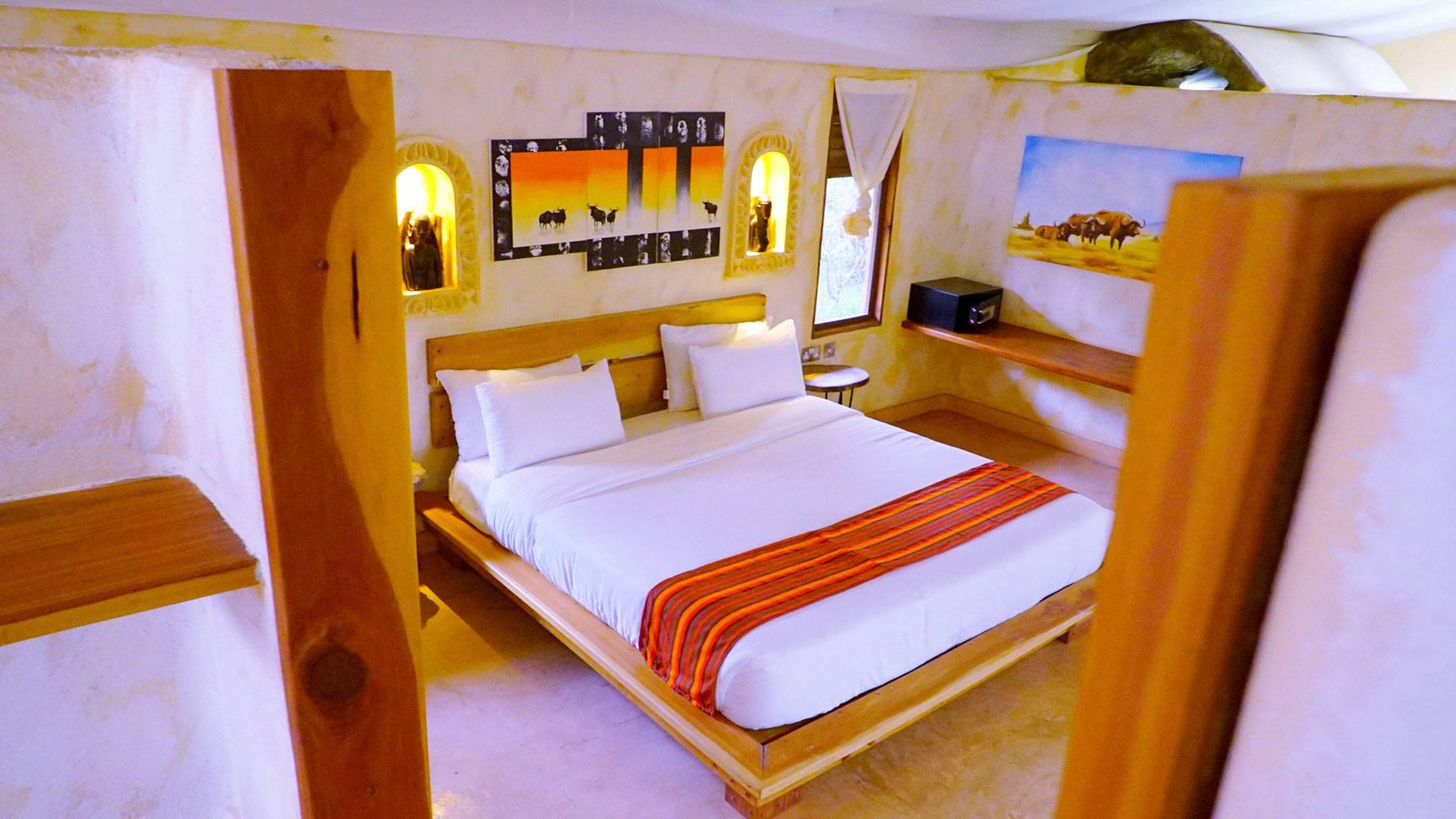 Detalles del lodge Azure Mara Haven