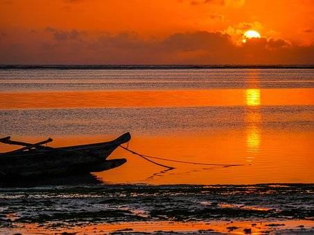 Atardecer en Zanzíbar
