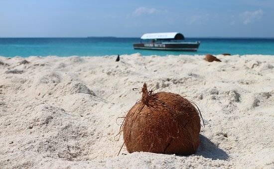 Arena blanca y preciosas playas en Zanzibar