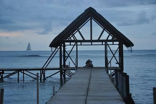 isla Mauricio con vistas