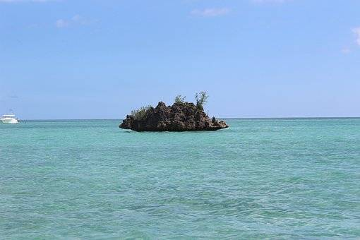 Aguas turquesas isla Mauricio